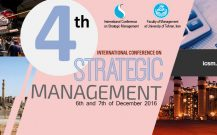 سایت دوزبانه کنفرانس بین المللی مدیریت استراتژیک